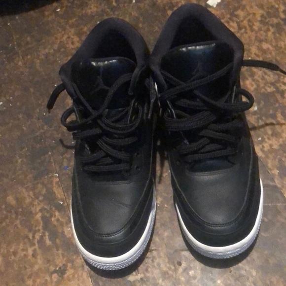 Black With White Sole Jordan